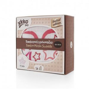 greenbaby xkko muselina bambu 120 120 le big red star